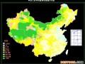 中国草畜资源分布图