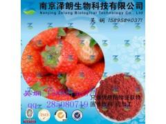 草莓浓缩粉 工厂生产 代加工植物提取物
