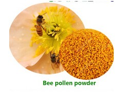 Natural bee pollen powder