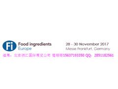 2017年-2019年欧洲天然食品配料添加剂展FIE Fi Europe2019